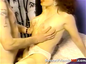 vintage porno With a wild ginger-haired