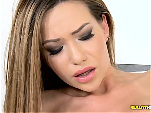 horny Russian stunner Subil arch plowed deep in her sweet kiska pudding