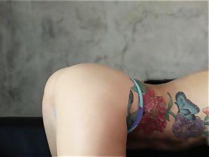 Karma Sn two with killer inked babe Monique Alexander