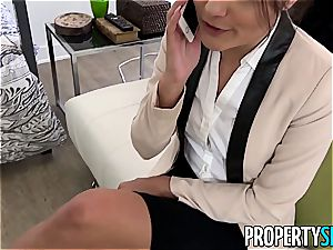 PropertySex Ridiculously super-steamy Real Estate Agent penetrates Ex