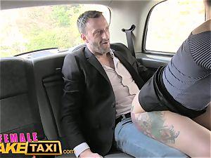 girl fake taxi Belgium porno man nails handsome cabbie