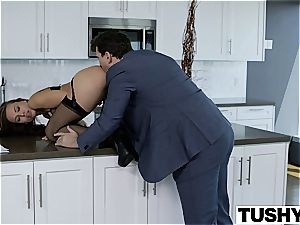 young assistant Aidra pummeled in the butt