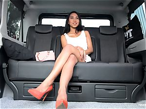 humped IN TRAFFIC - sizzling car boink with Indonesian honey