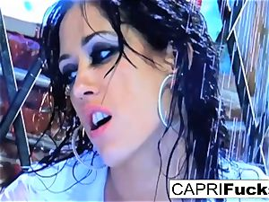 beauty Capri gets boned hard by Keni