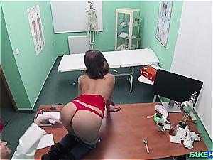Hidden web cam intercourse in the doctors office