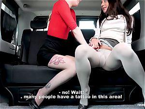 humped IN TRAFFIC - super-fucking-hot Czech smallish gets drilled in car