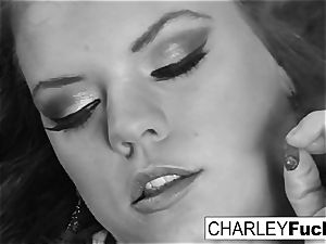 Charley and her girlfriend smoke and have a little fun