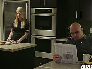 VIXEN nubile Lily Rader drilled By step-father