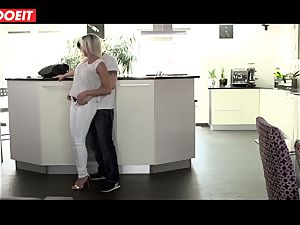 insane stepmom gets pounded hard-core by her stepson