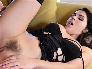 Valentina Nappi slammed in her moist pussyhole