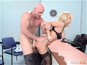 fabulous office honey Alix Lynx takes a second helping