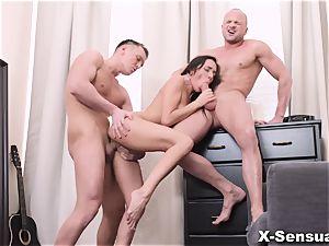 X-Sensual - Kerry virgin - She wants them both