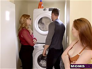 mommy Helps daughter-in-law train Step step-brother A Lesson S9:E9