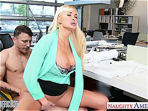 Summer Brielle at the office down for a excellent lovemaking