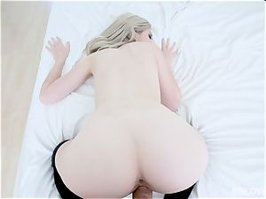 Jane Wilde point of view cootchie penetrate with strung up stepbro
