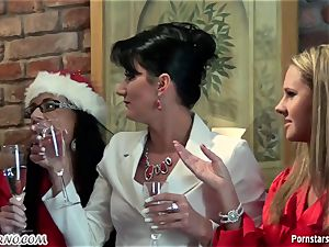 inebriated office woman sapphic soiree with pissing