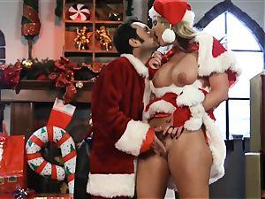 Santas dominatrix Phoenix Marie gets her candy crop