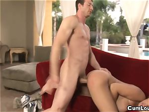 chesty Latina Bridgette B is nailed by a enormous rod