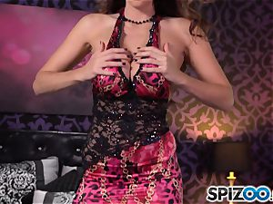 Spizoo-Watch Alison Tyler screwing a huge hard-on enormous breasts