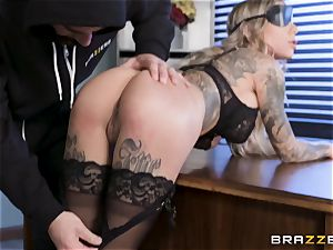 Karma Rx takes puss porked in the office