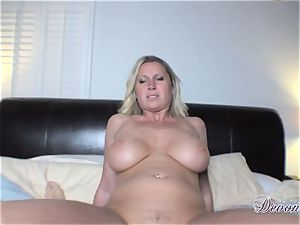 Devon Lee gets herself drilled just the way she enjoys before getting gooed