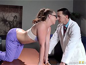Nurse Maddy OReilly puts things right with a screwing