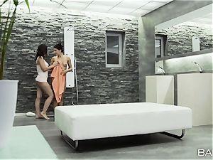Eve Angel and Brandy sneer g/g lusting