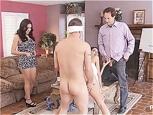 group fuck-fest and Hangman with cute couples two