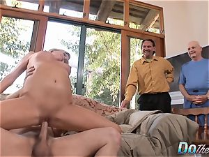 mummy deep-throats & plumbs a fellow While cheating witnesses