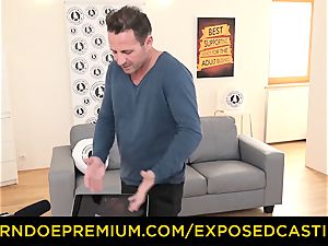 uncovered audition - fabulous brown-haired has xxx buttfuck lovemaking
