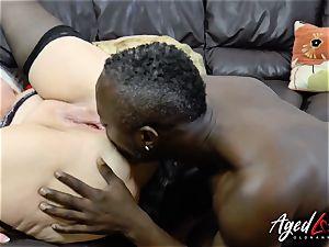 AgedLovE Lacey Starr bi-racial xxx anal
