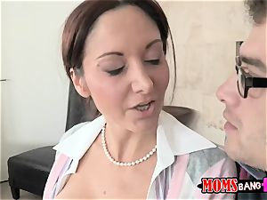 Dillion Harper - My stepmother teaches me and my beau to be senior