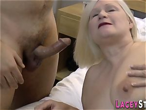 huge-titted british granny pulverized
