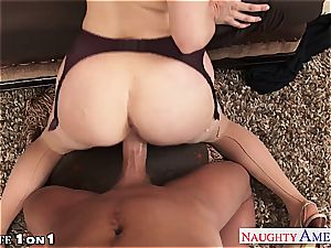 Ginger Penny Pax in point of view getting her cooch railed