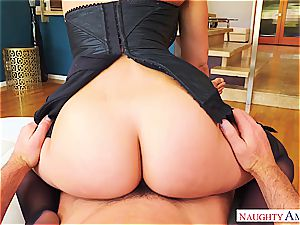 zeal and tantric eagerness comes with Rachel Starr and her very inappropriate demeanor