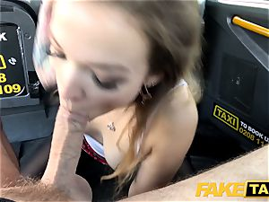 faux cab small Kylie Nymphette slit romped