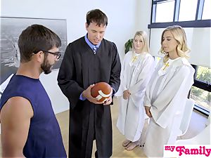 Church stunner smashes brother Behind Dads Back! S1:E4