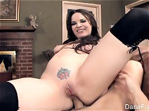 fabulous Dana DeArmond gets a point of view backside penetrate
