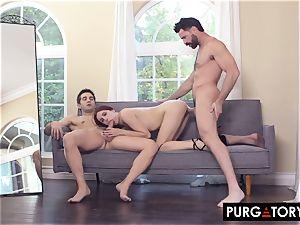 PURGATORYX wish couple Part trio with April Snow