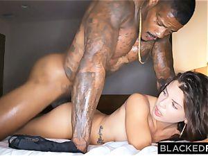 BLACKEDRAW cuckold girlfriend hooks up with black man