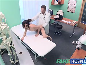 FakeHospital messy doctor pokes thief and creampies her