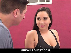 SheWillCheat cheating gf Karlee Grey nails Trainer