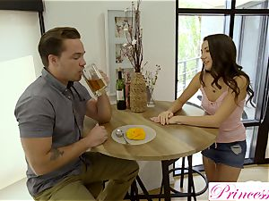 Lily Adams romps her nasty stepbrother