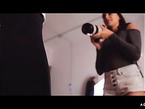 A dame KNOWS - Ukrainian Talia Mint pounds lezzie model