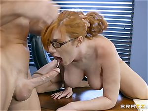 man sausage hungry Lauren Phillips humped in her ginger vag