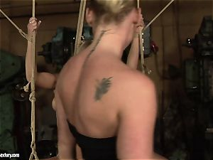 Kathia Nobili love humping the warm gal with dildo