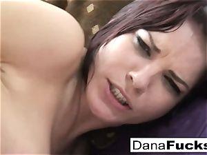 Dana sucks fuck-stick and gets porked
