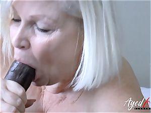 AgedLovE Lacey Starr gonzo bi-racial poke