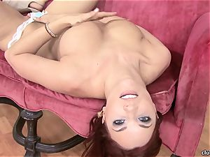 Jayden Cole whips out her mouth-watering obese bra-stuffers