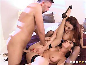 Dana DeArmond brings her buddy Chanel Preston in to spice her marriage up